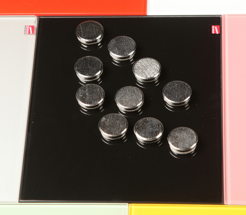 TK-Team Neo magnets for glass writing boards 10 pcs