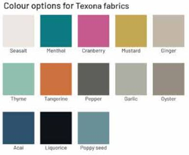 Texona colours