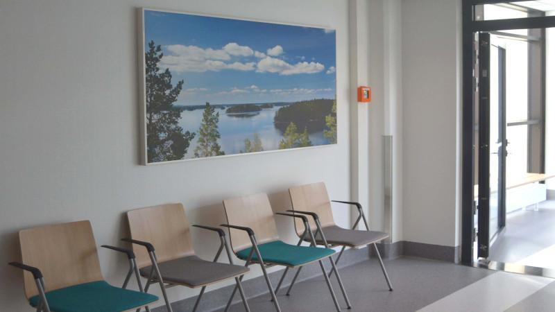 TK-Team Seinäjoki hospital acoustic panel