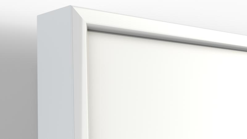 Ultra whiteboard, white trim
